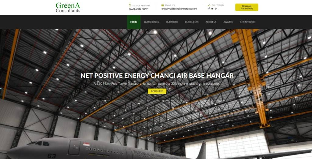 GreenA Top Sustainability Firms in Singapore