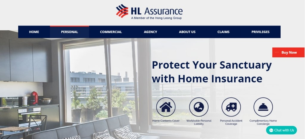 HL Assurance Top Home Insurance Providers in Singapore