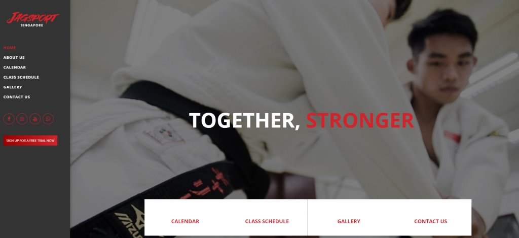 Jag Sport Top Judo Gyms and Classes in Singapore