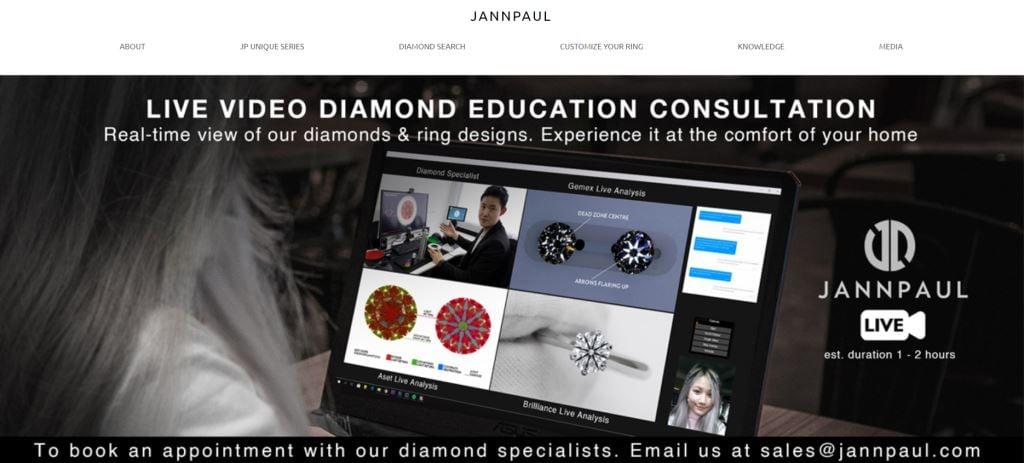 Jann Paul Top Custom Ring Stores in Singapore