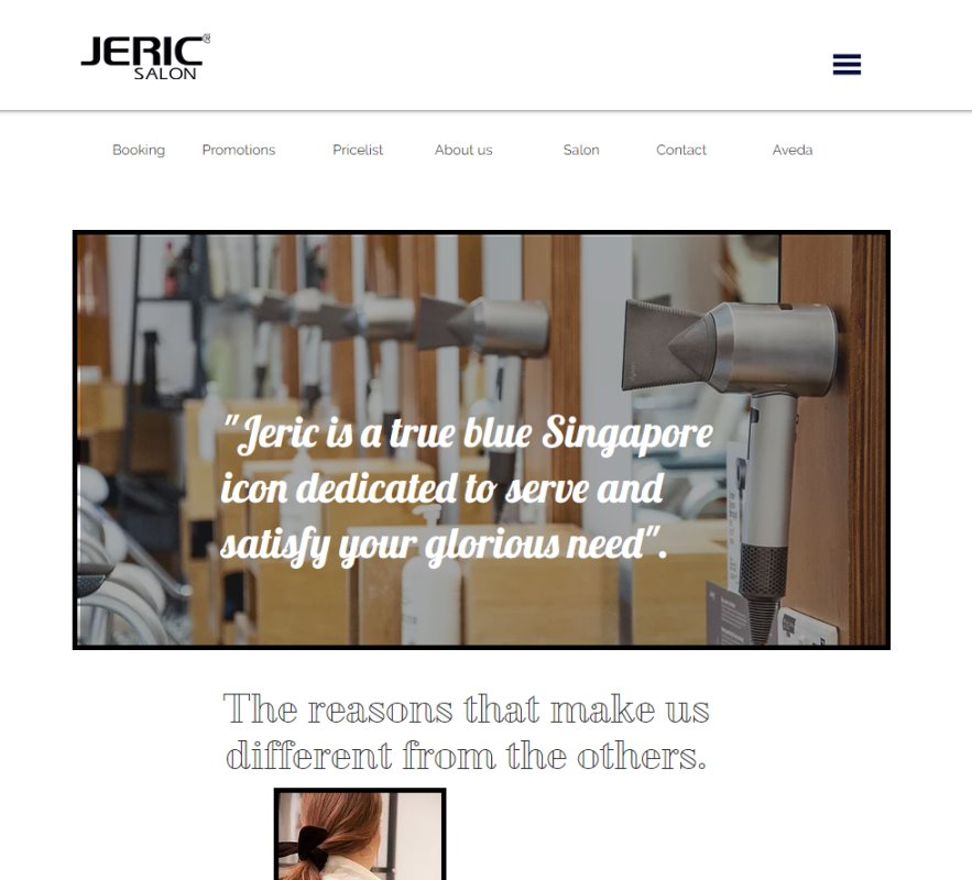 Jeric Salon Top Hair Colouring Salons in Singapore