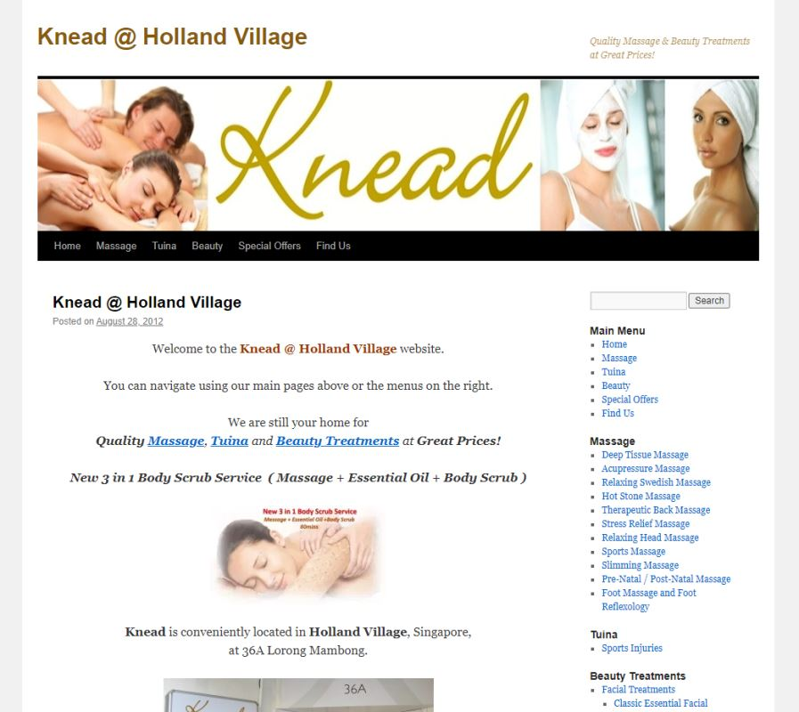 Knead Top Ear Candling Services in Singapore