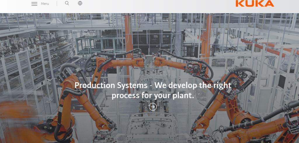 Kuka Top Robotics Companies in Singapore