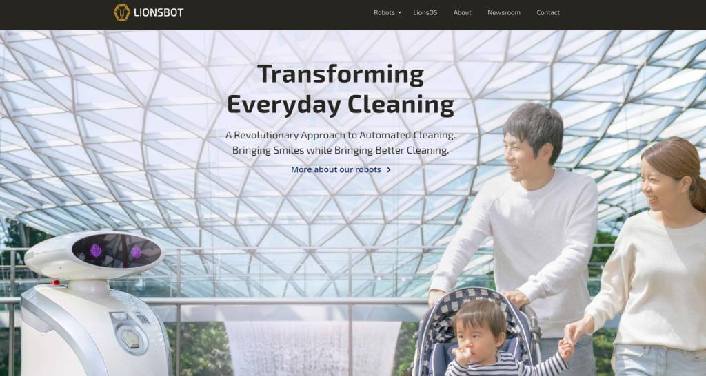 Lionsbot Top Robotics Companies in Singapore