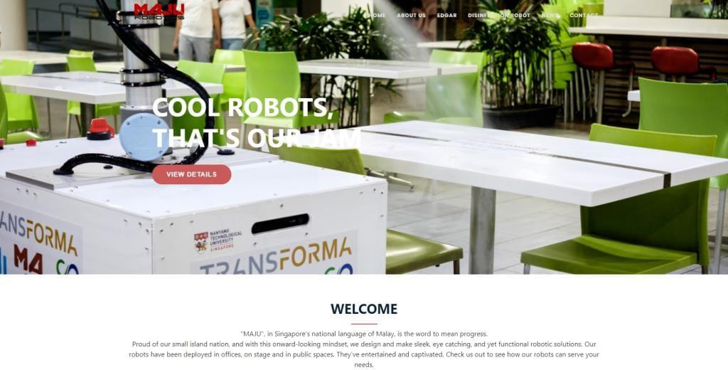 MAju Robotics Top Robotics Companies in Singapore