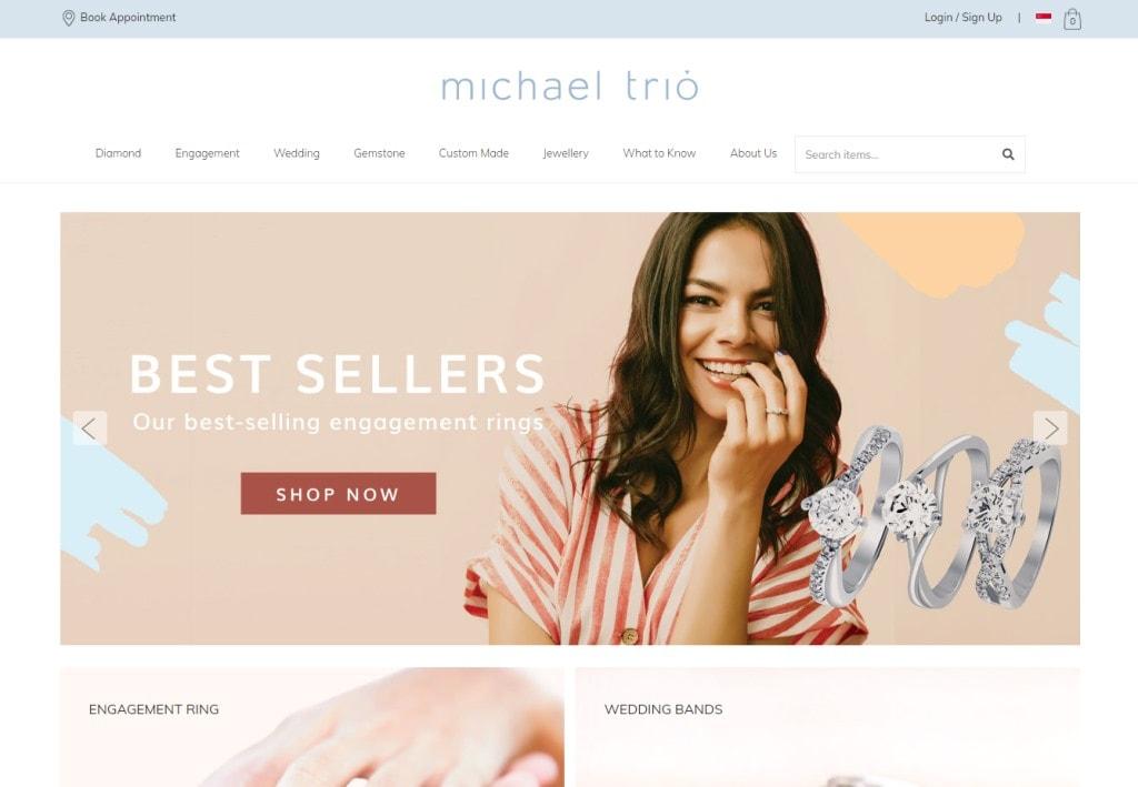 Michael Trio Top Custom Ring Stores in Singapore