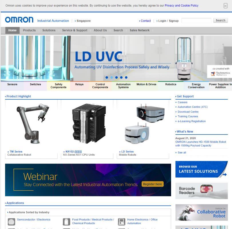 Omron Top Robotics Companies in Singapore