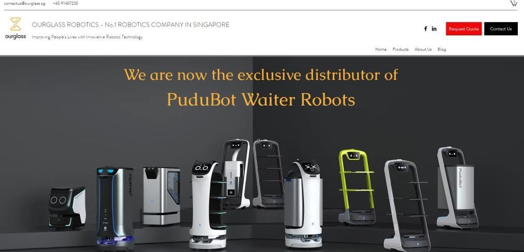 Ourglass Top Robotics Companies in Singapore