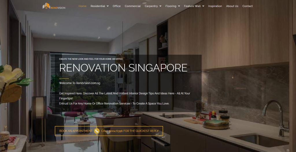 RenoVision Top Toilet Renovation Services in Singapore