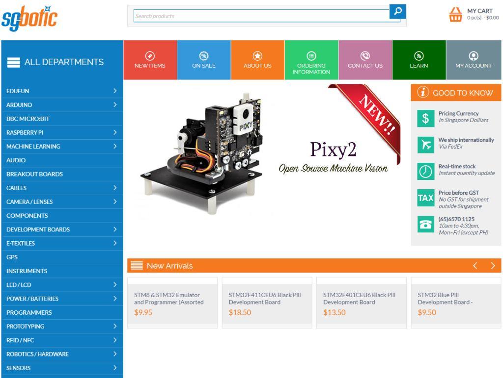 SG Botic Top Robotics Companies in Singapore