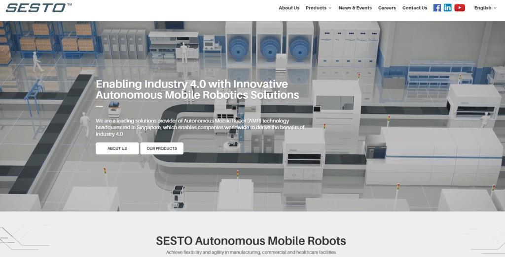 Sesto Top Robotics Companies in Singapore