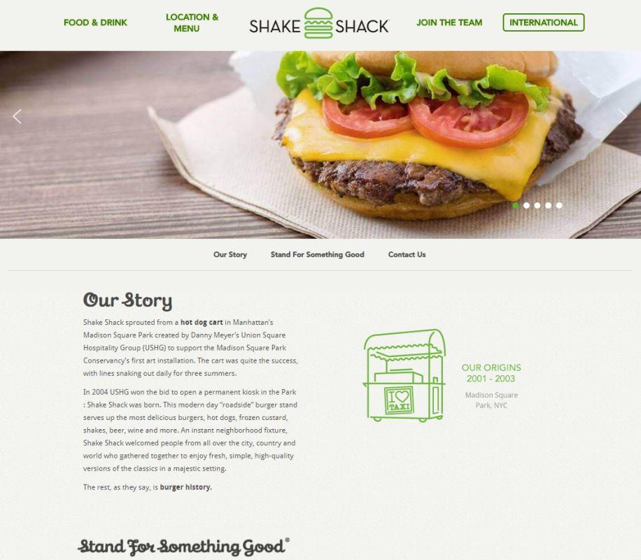Shake shack Top Western Food Restaurants in Singapore