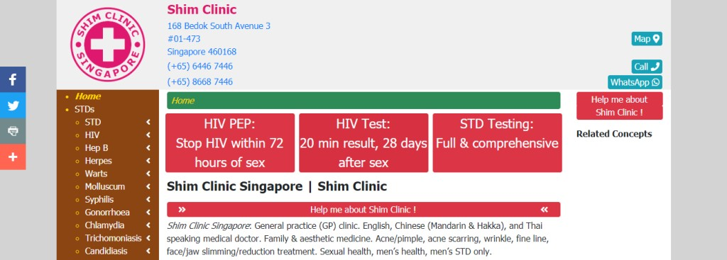 Shim Clinic Top Weight Loss Centres in Singapore