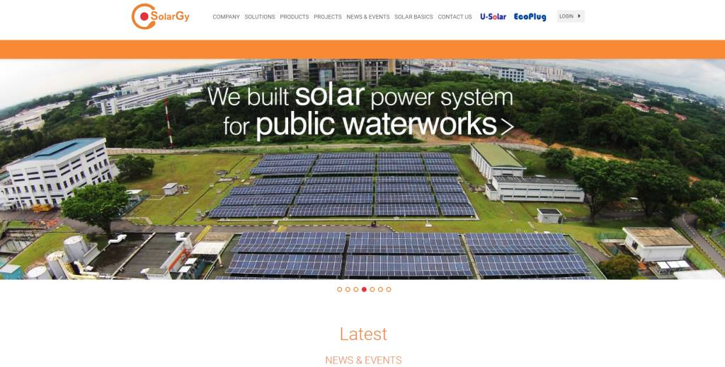Solar Gy Top Sustainability Firms in Singapore