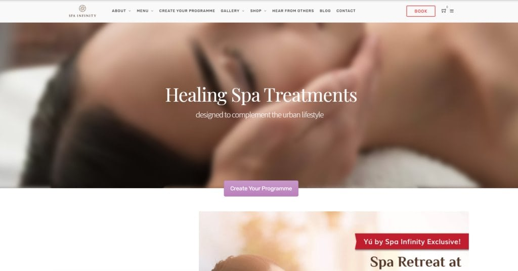 Spa Infinity Top Slimming Centres in Singapore