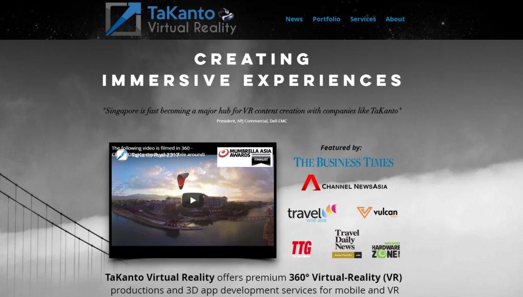 Ta Kanto Top Virtual Reality Providers in Singapore