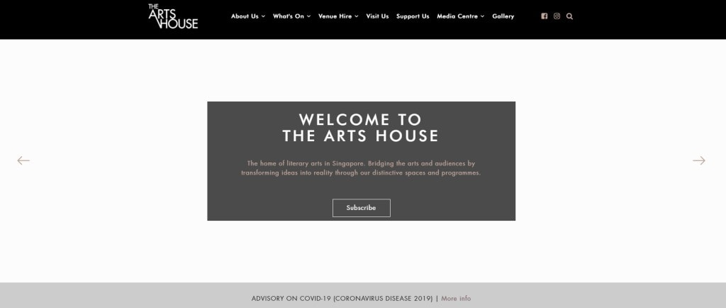 The Arts House Top Event Space Rental in Singapore