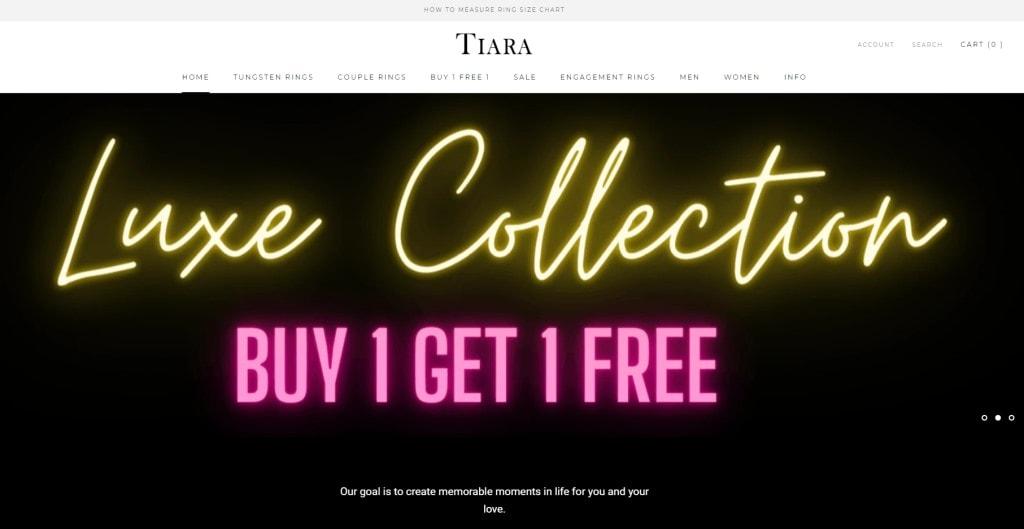 Tiara Top Custom Ring Stores in Singapore