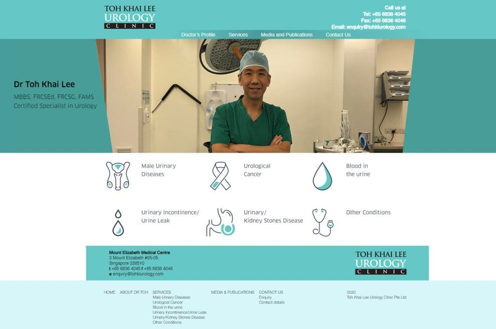 Tohkl urology Top Urologists in Singapore