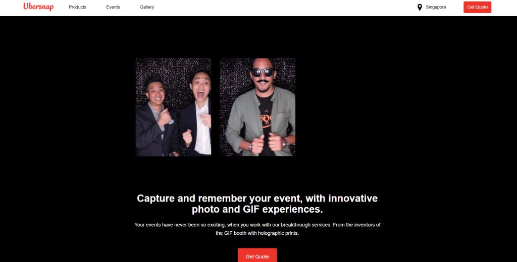 UberSnap Top Wedding Photobooth Services in Singapore