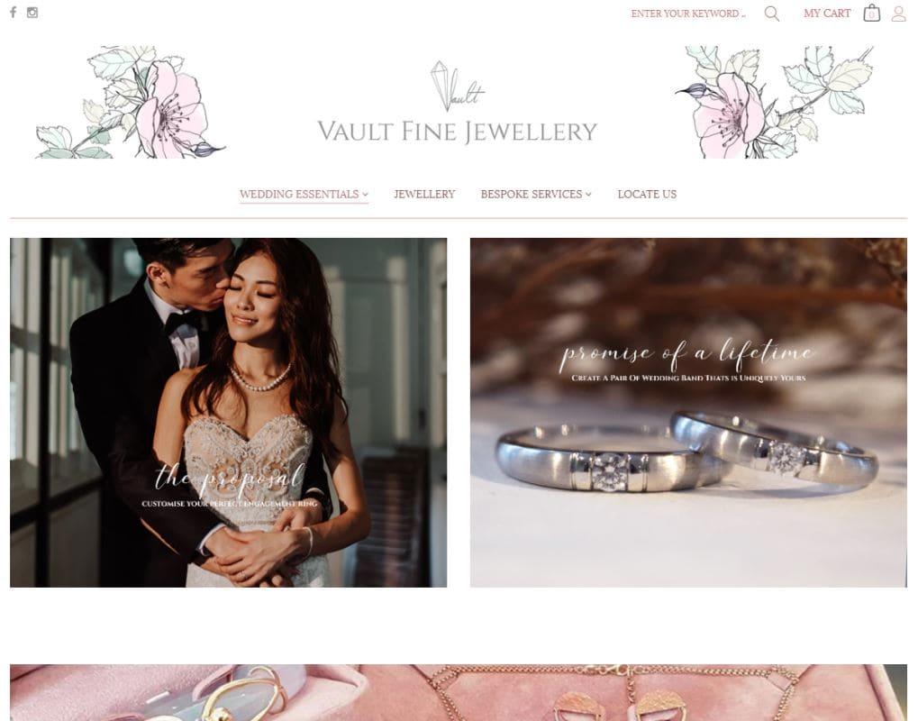 Vault Fine Jewellery Top Custom Ring Stores in Singapore