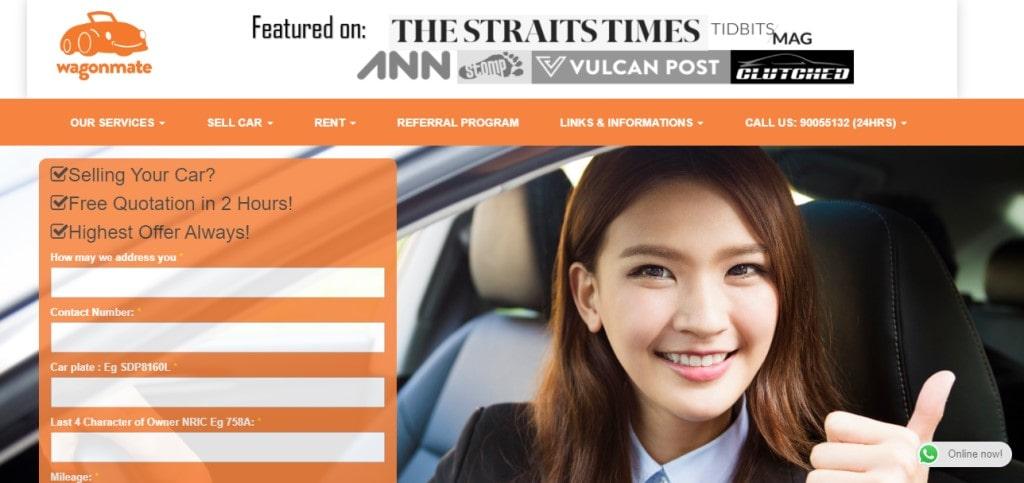 Wagon mate Top Car Leasing Companies in Singapore