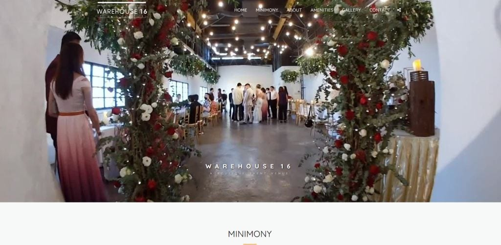 Warehouse 16 Top Event Space Rental in Singapore