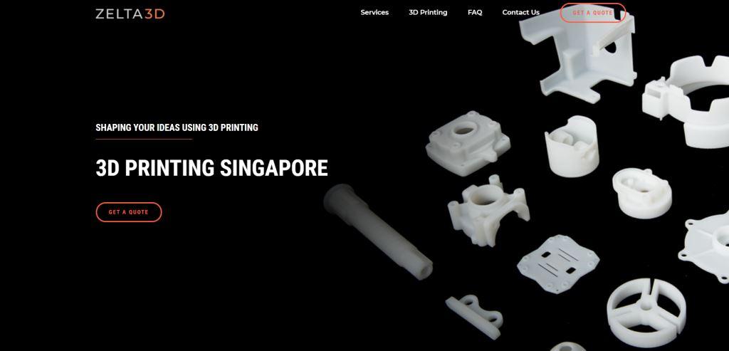 Zelta 3D Top 3D Printing Services Singapore