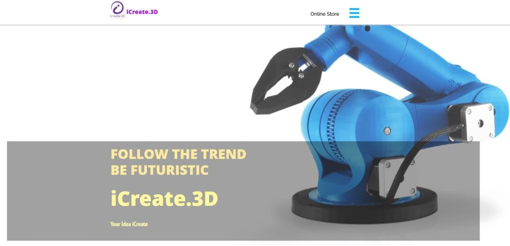 iCreate Top 3D Printing Services Singapore