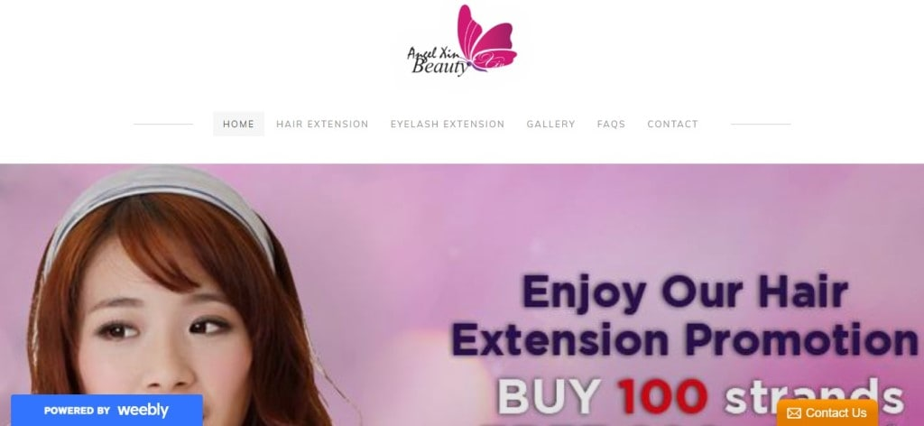 Angel Xin Top Hair Extension Salons in Singapore