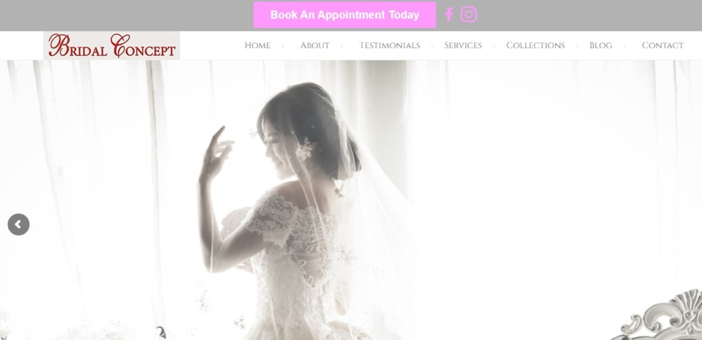 Bridal Concept Top Bridal Services in Singapore