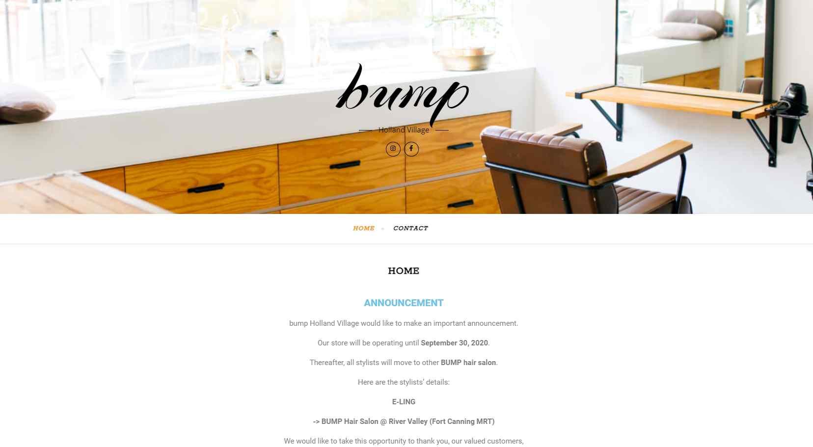Bump Top Hair Rebonding Salons in Singapore