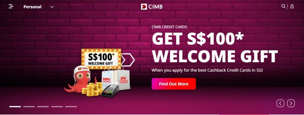 CIMB Top Personal Loan Providers in Singapore