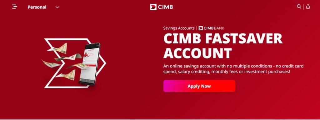 CIMB Top Savings Accounts in Singapore