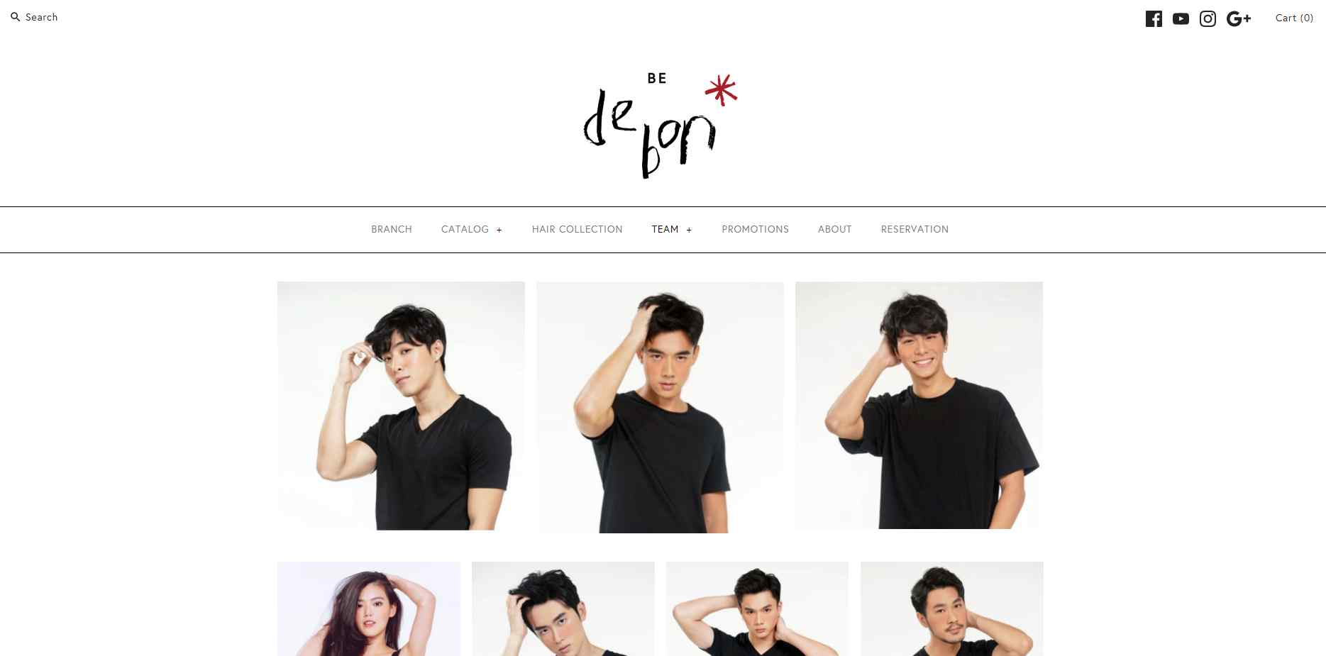 De Bon Top Hair Rebonding Salons in Singapore