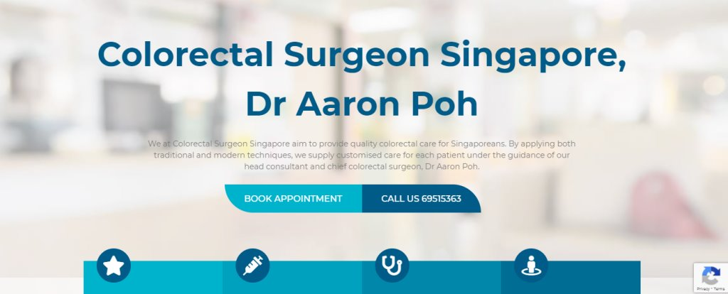 Dr Aron Poh Top Colonoscopy Centres in Singapore