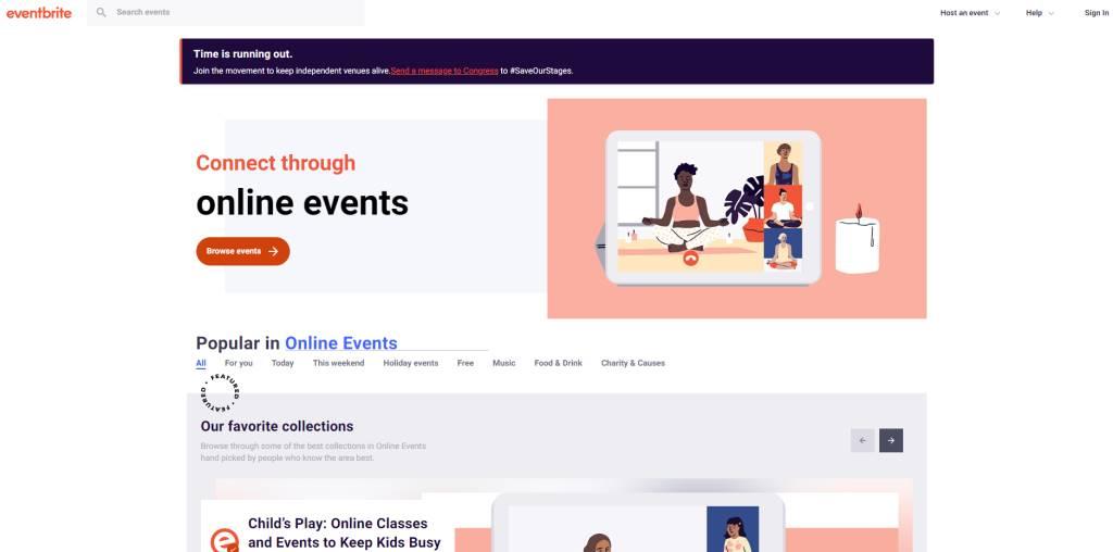 Event Brite Top Webinar Service Providers in Singapore