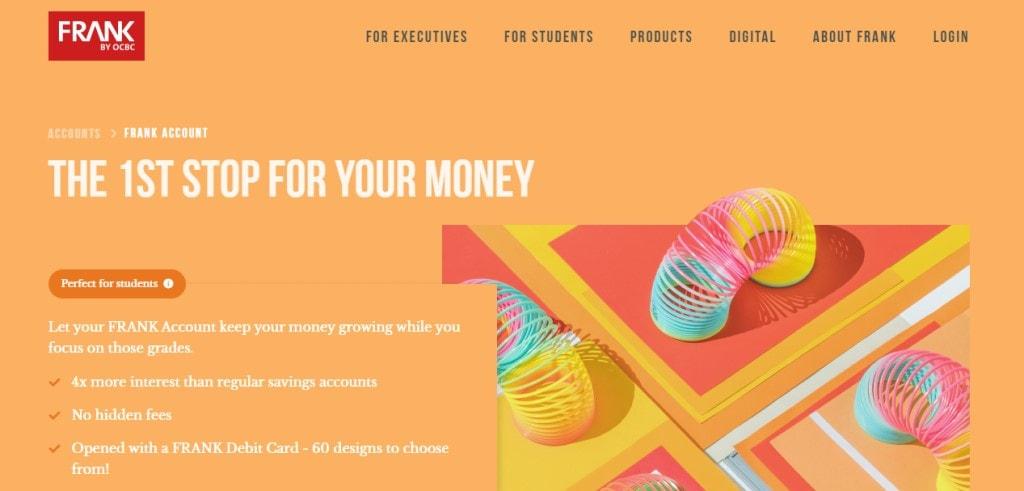 Frank OCBC Top Savings Accounts in Singapore