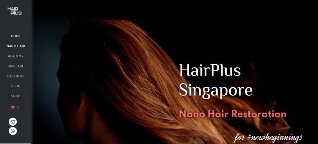 Hair Plus Top Hair Extension Salons in Singapore