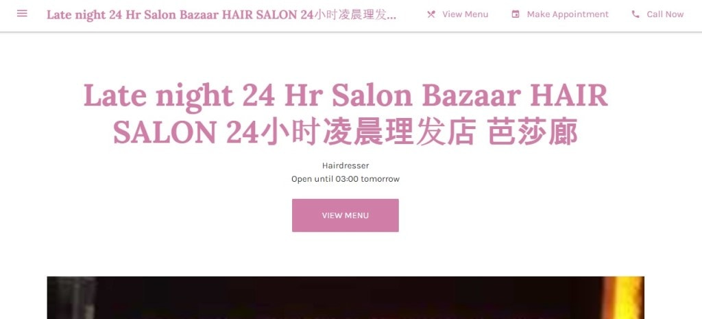 Late night 24hr Top Hair Extension Salons in Singapore