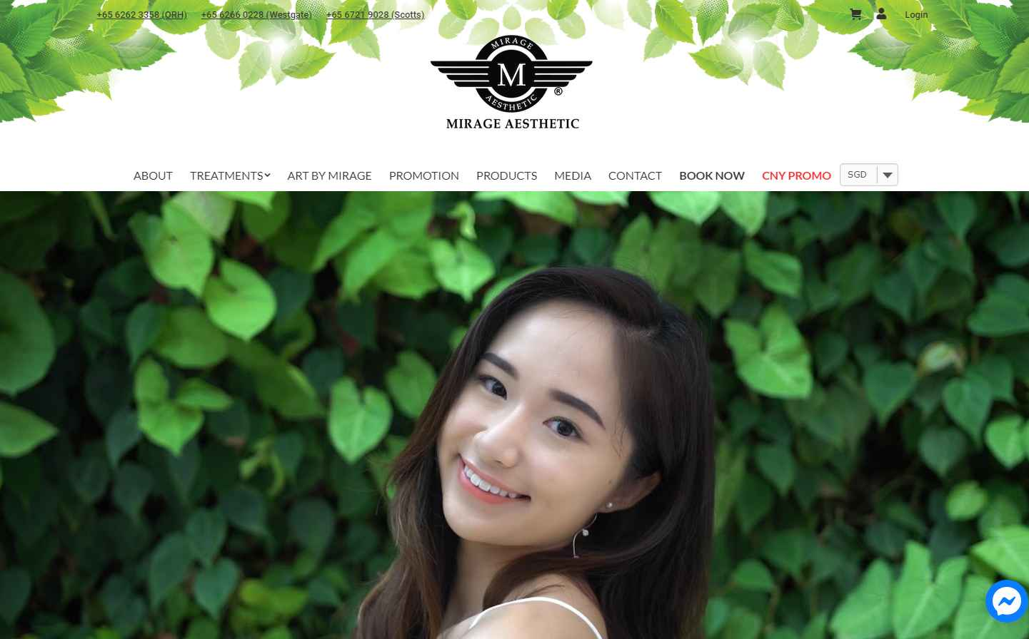 Mirage aesthetic Top Microblading Salons in Singapore