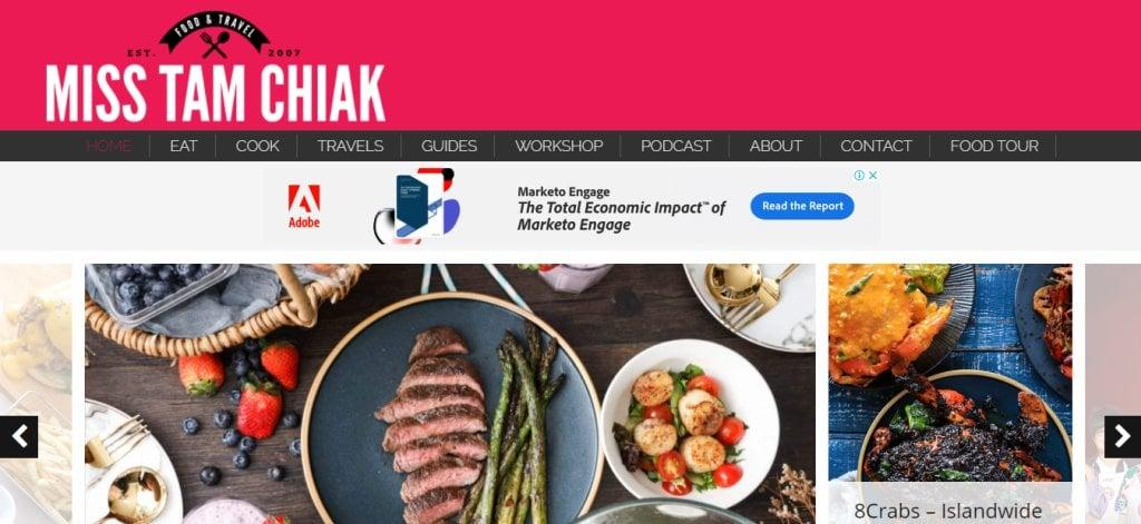 Miss Tam Chak Top Food Blogs in Singapore