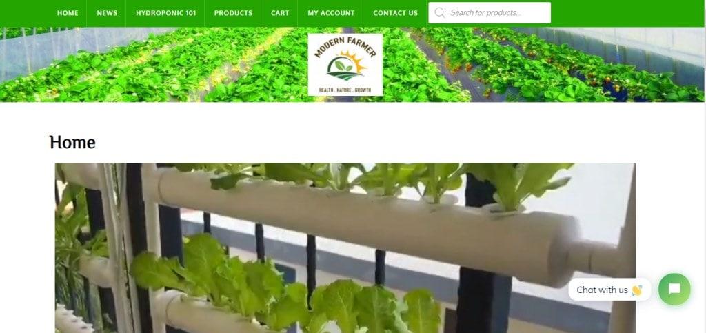 Modern farmer Top Hydroponics Providers in Singapore