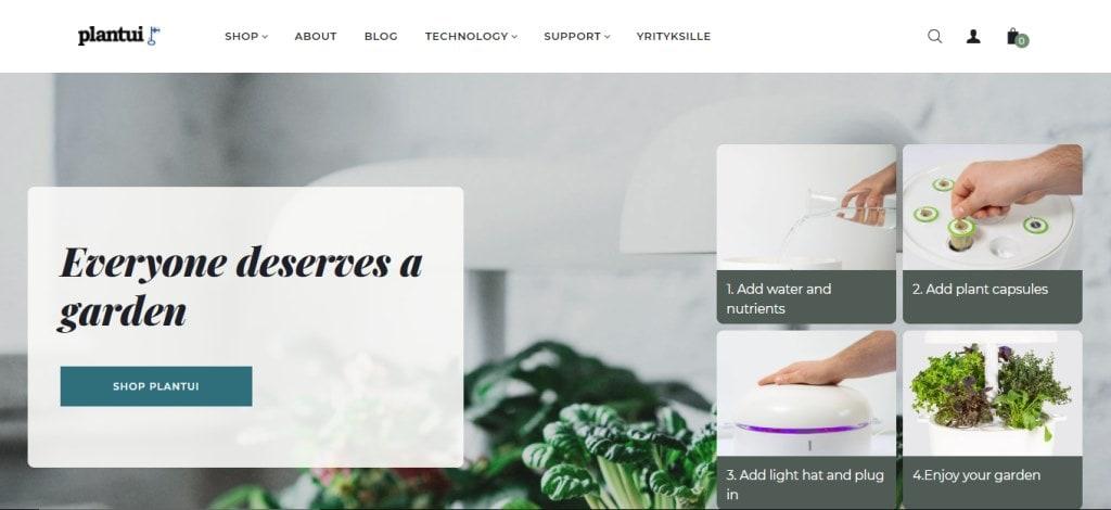 Plantui Top Hydroponics Providers in Singapore
