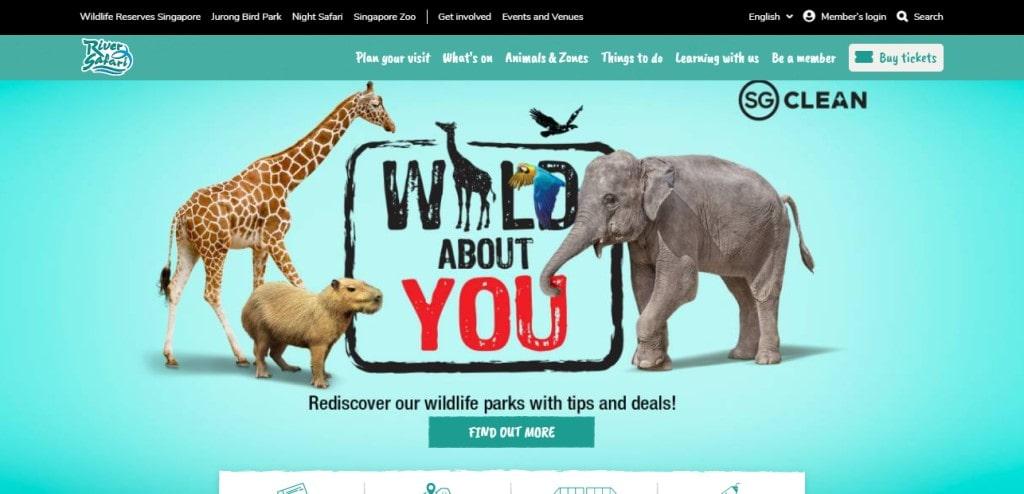 River Safari Top Attractions in Singapore