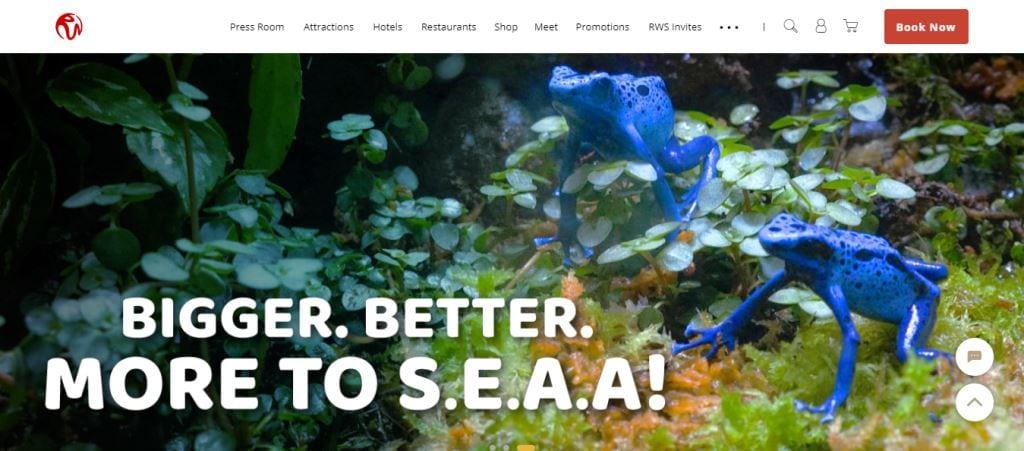 SEA Aquarium Top Attractions in Singapore