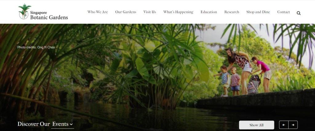 SG Botanic Garden Top Attractions in Singapore