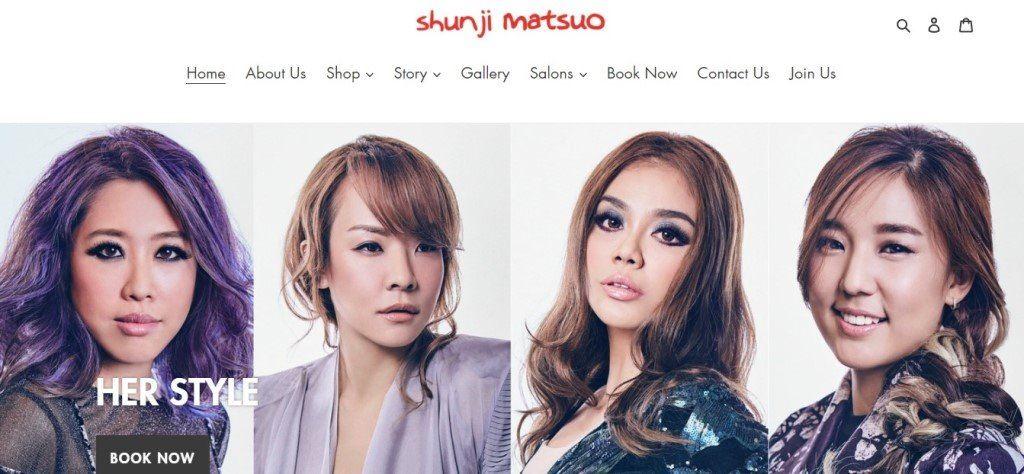 Shunji Matsuo Top Hair Extension Salons in Singapore
