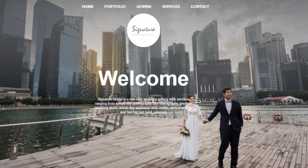 Signature Bridal Top Bridal Services in Singapore