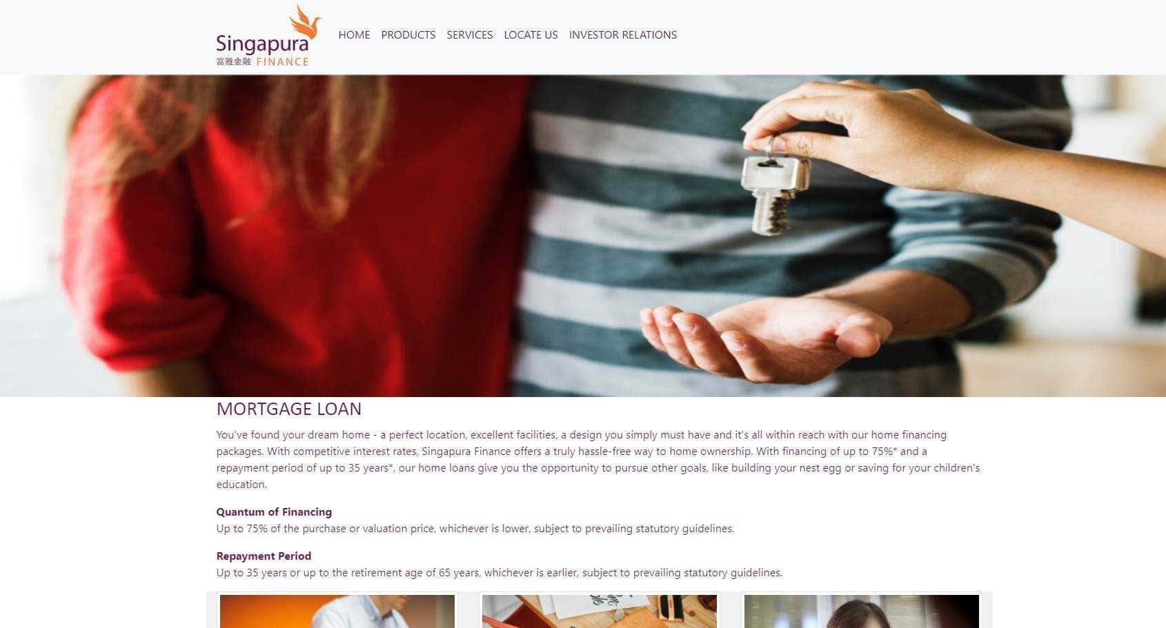 Singapura Finance Top Home Loan Providers in Singapore